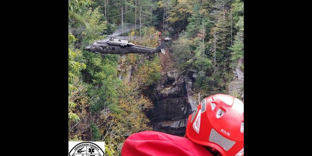 28-year-old man falls to his death from top of waterfall in North Carolina mountains