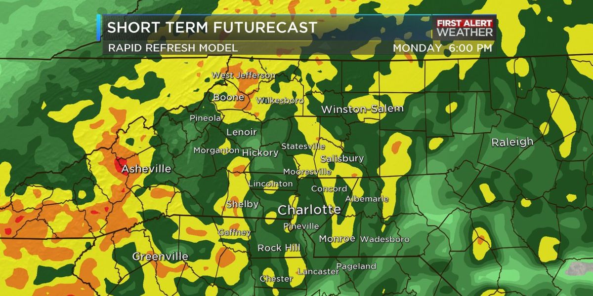 First Alert Days: Cold, rainy weather Monday and Tuesday