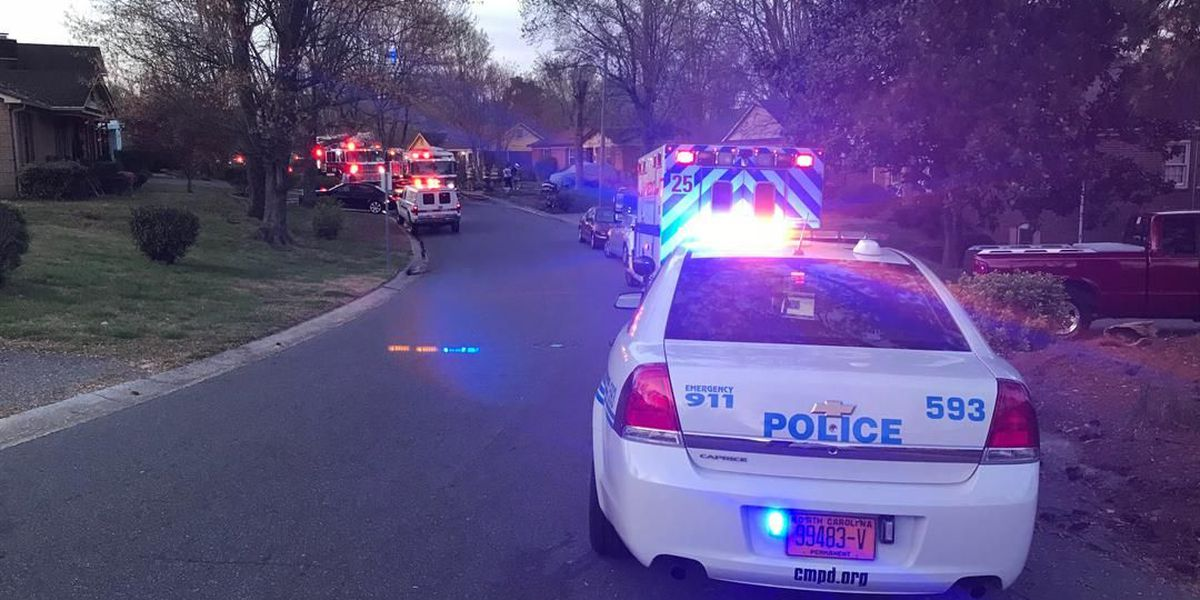 Family displaced after kitchen fire in north Charlotte