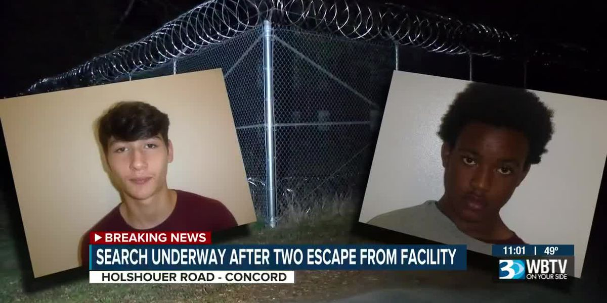 Search underway after two escape from facility