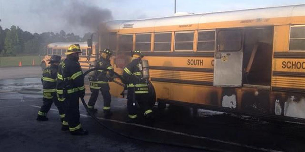 Thousands of SC school buses being inspected after Rock Hill fire