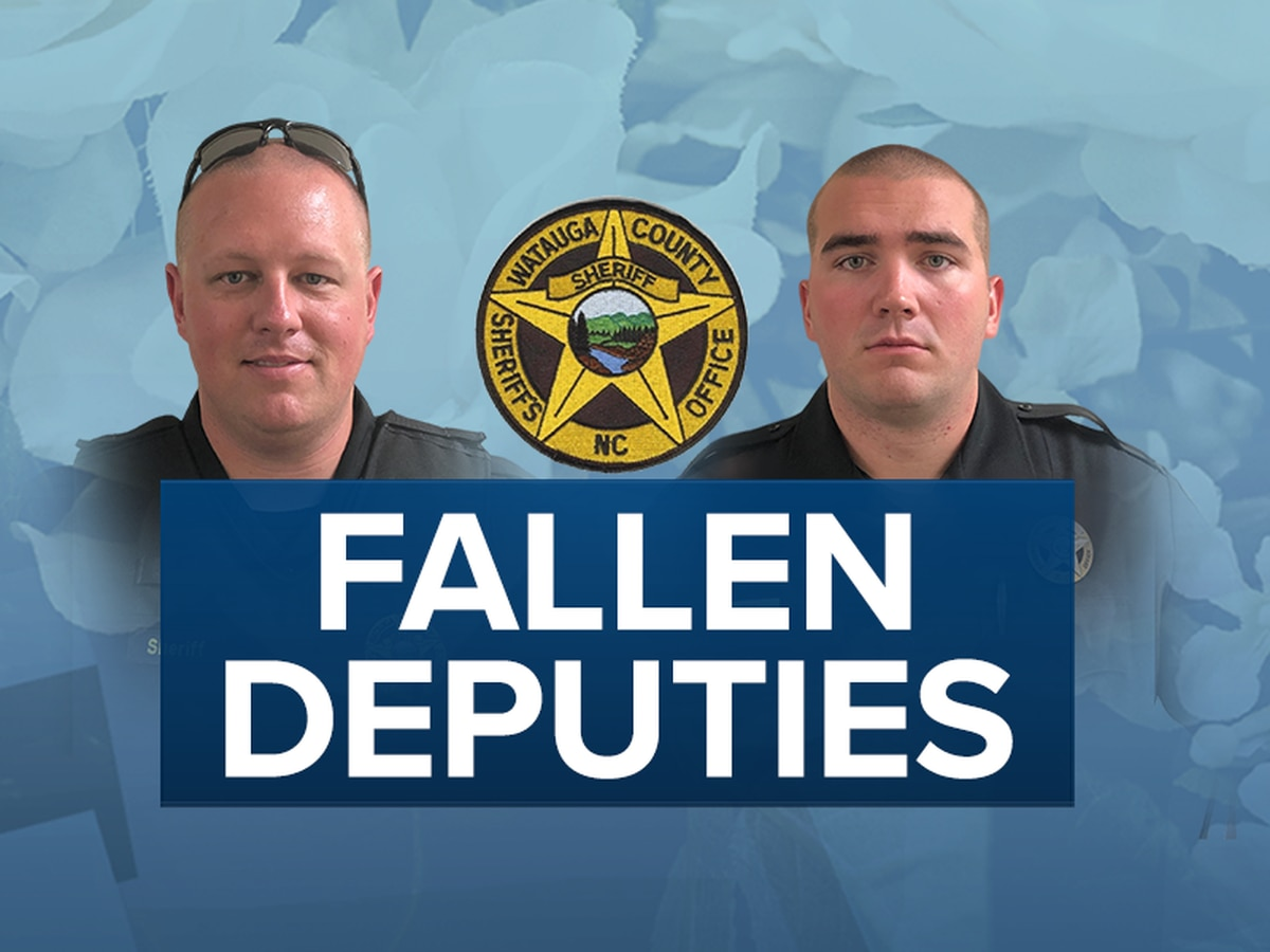 LIVE: Community to say farewell to Watauga Co. deputies killed in line of duty