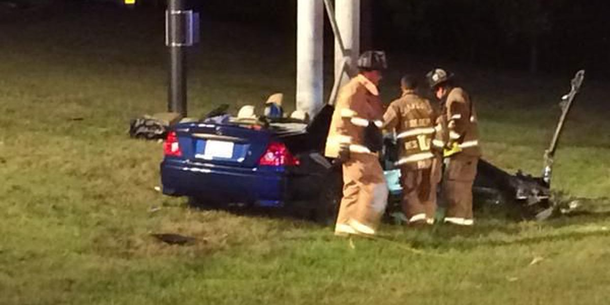 Two hospitalized in I-277 crash, driver facing DWI charges - DETAILS on WBTV