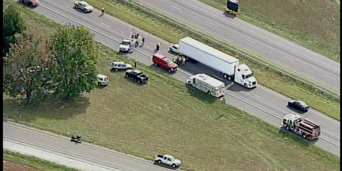 Motorcycle involved in fatal crash along I-40, hours after truck