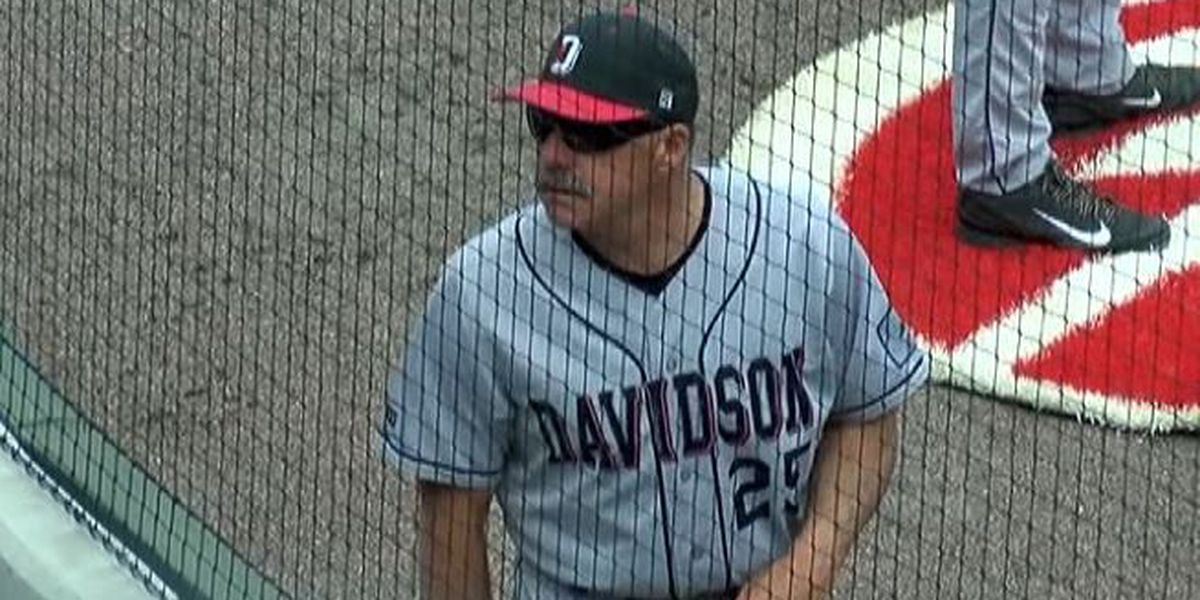 2018 will be last season for Cooke as Davidson baseball coach