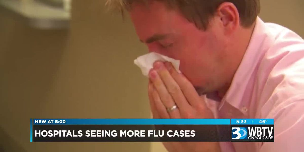 Hospitals seeing more flu cases