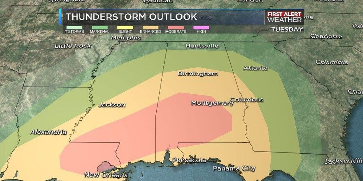 BLOG: Midweek severe weather risk