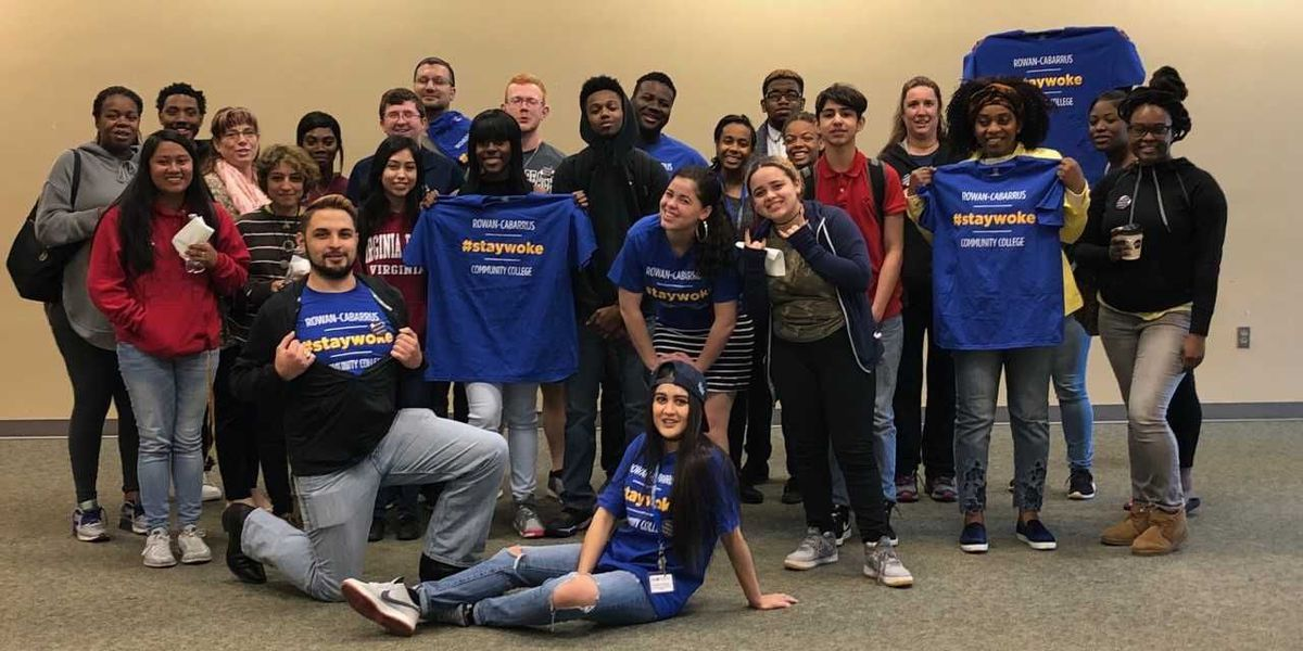 Rowan-Cabarrus Student Government hosts 'Stay Woke' events to discuss social issues