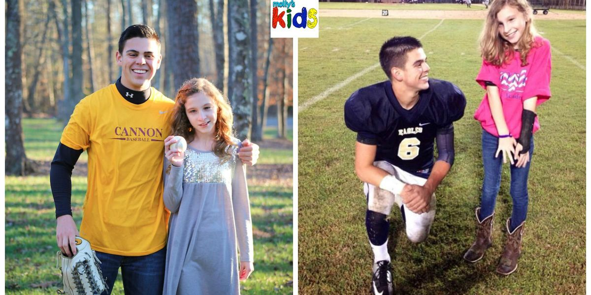 Molly's Kids: An angel in the outfield