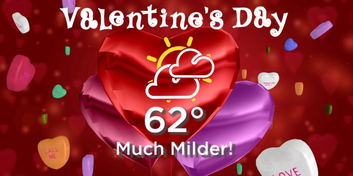 BLOG: Cold snap ends, warming trend underway in time for Valentine's Day
