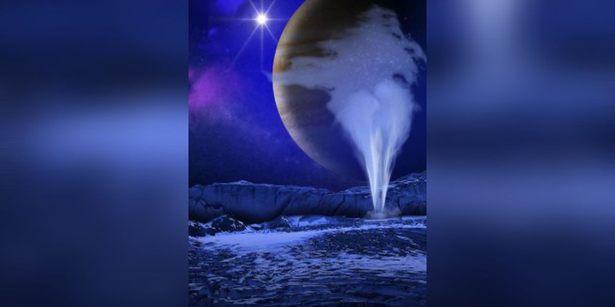 Water vapor found on Jupiter's moon Europa, fueling hopes in search for life beyond Earth - WBTV