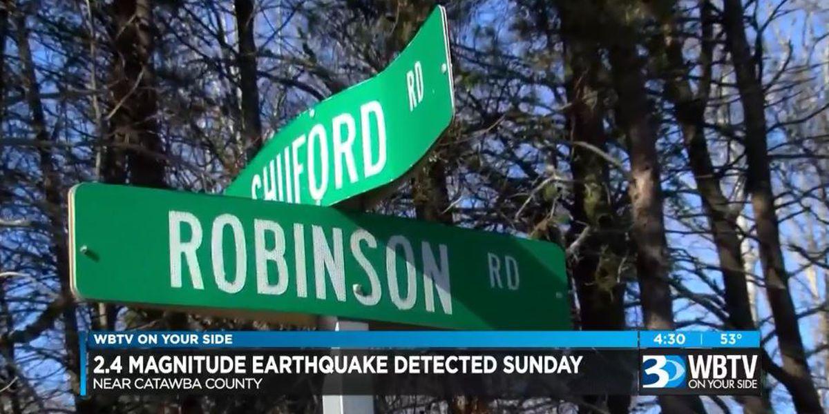 Ground shakes as quake hits Catawba County