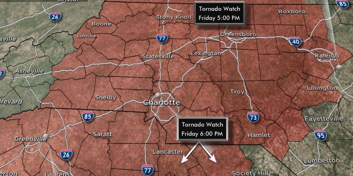 FIRST ALERT: Tornado Warning issued for some, Tornado Watch issued for entire area