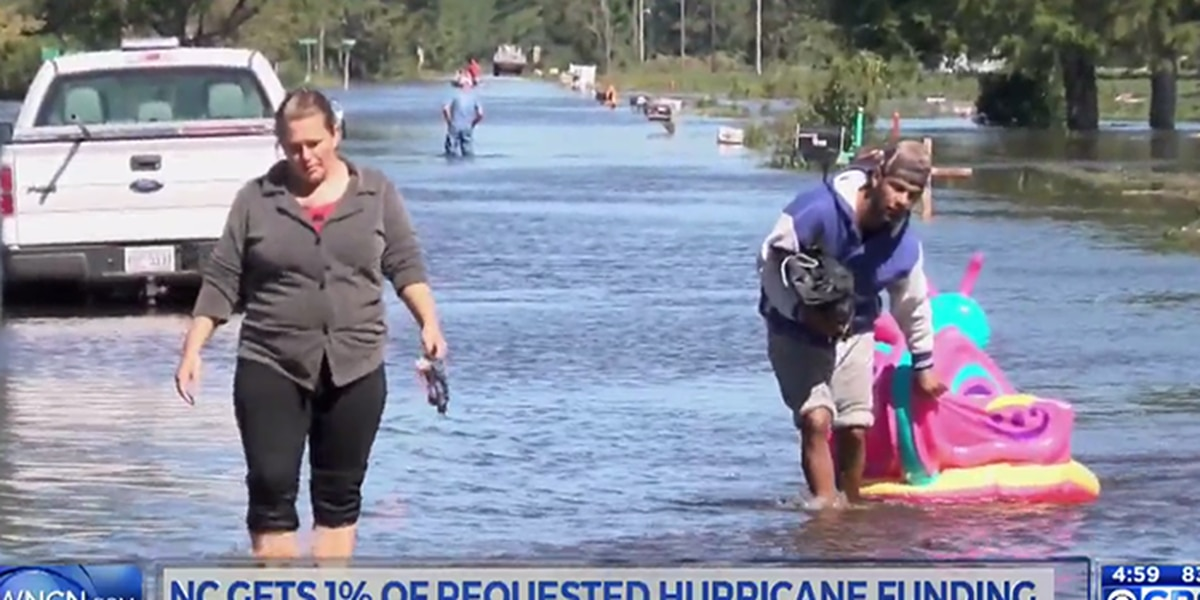 Cooper in DC to push for more Matthew aid after 99 percent denied by federal government