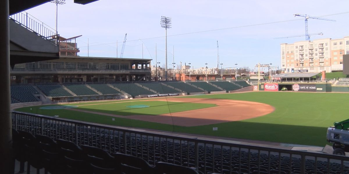 Charlotte Knights extending safety netting in BB&T BallPark for fan safety