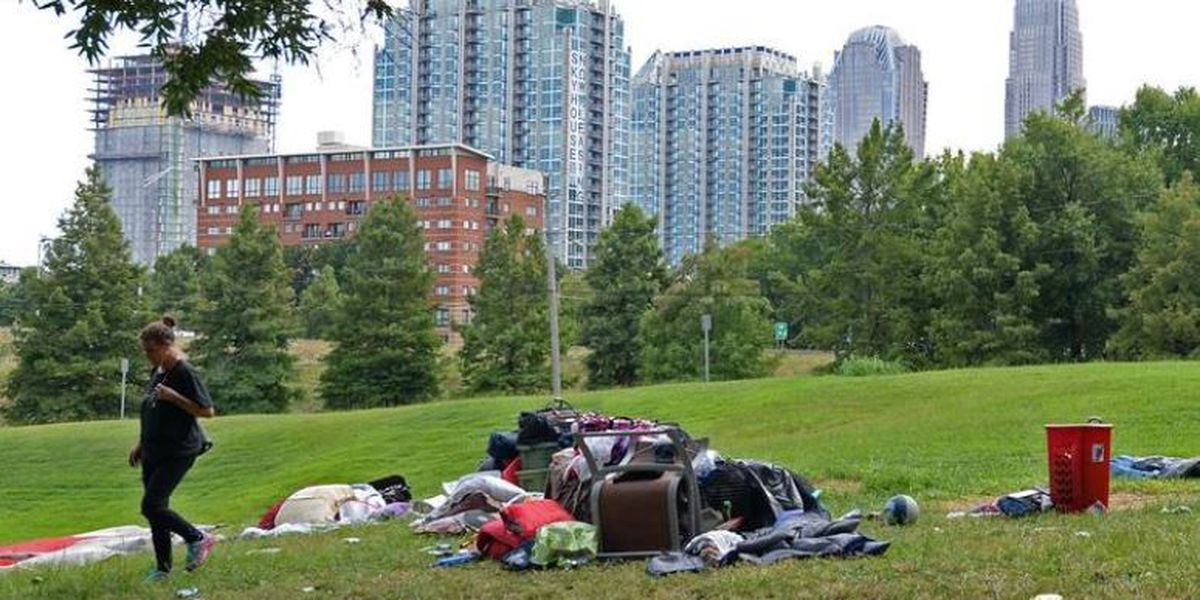Uptown property owner sues city, county to clear homeless camp that's next door