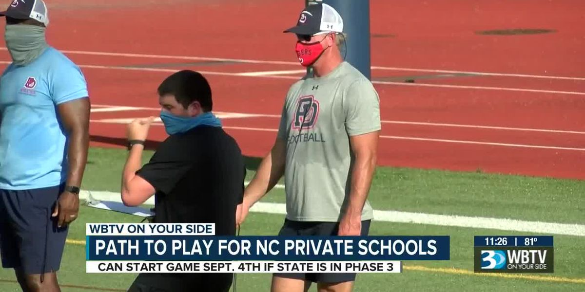 Pathway to a private school football season is clear, but a big decision still to come before they g