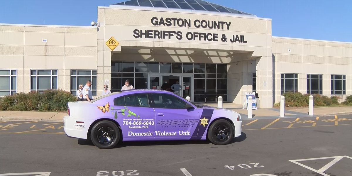 Gaston County Sheriff's Office expands campaign to promote domestic violence awareness