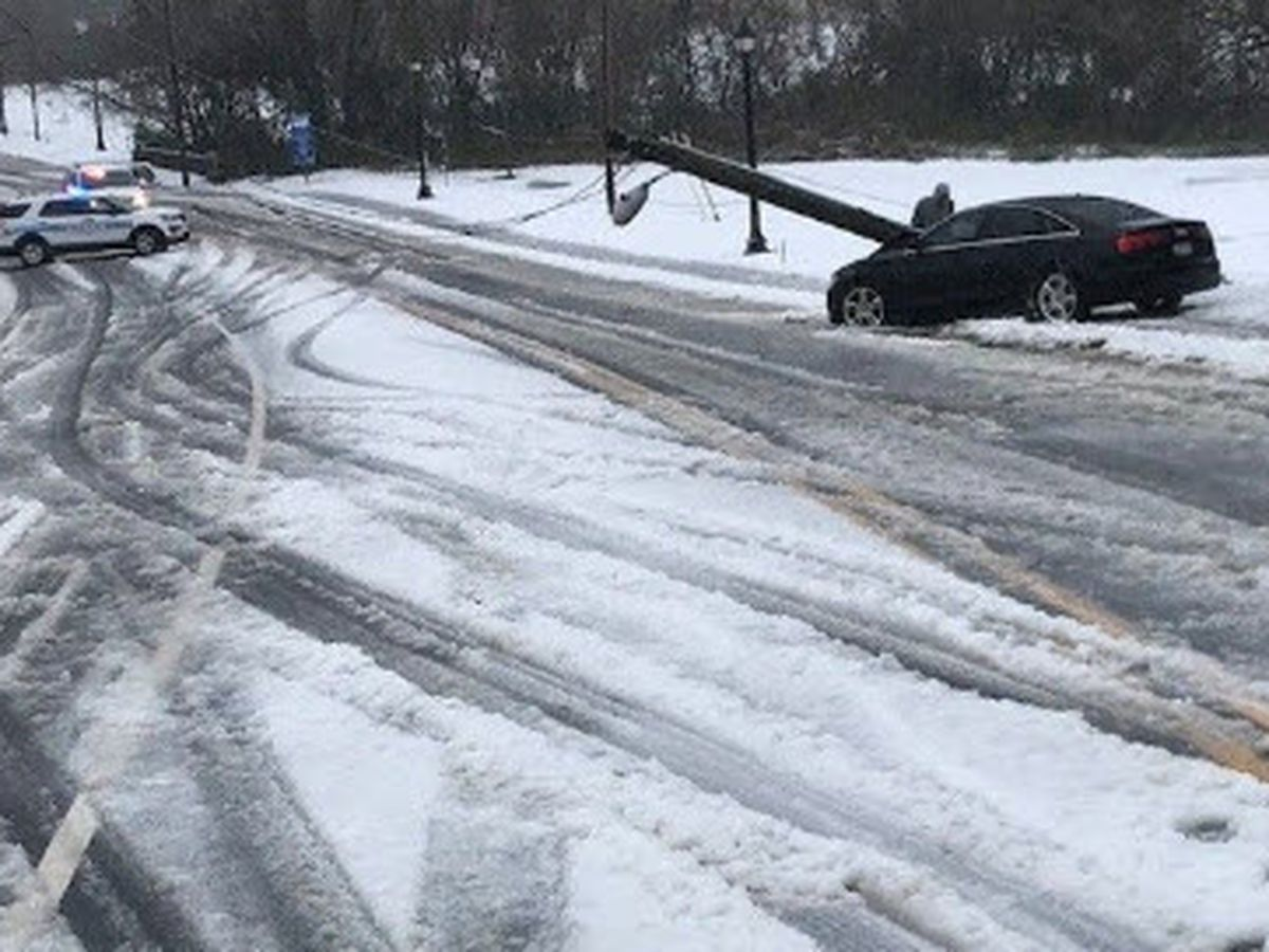 Busy day for tow truck operators during winter storm
