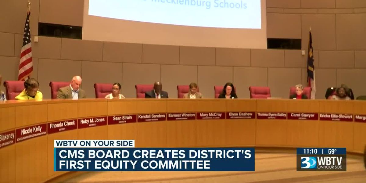 CMS board votes on inaugural equity committee members, adds Cornelius to list of funded municipalities