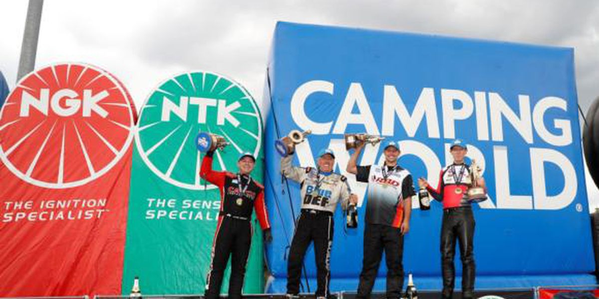 John Force scores no. 152, Torrence claims fifth straight Top Fuel win at zMAX Dragway in Concord
