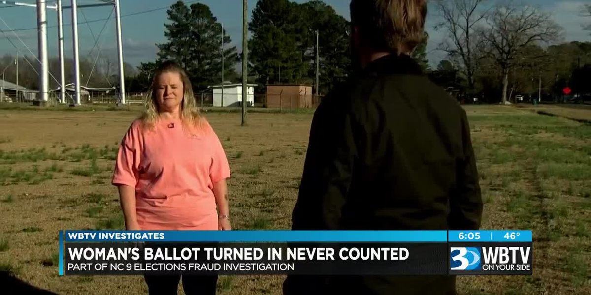 Woman's ballot turned in but never counted