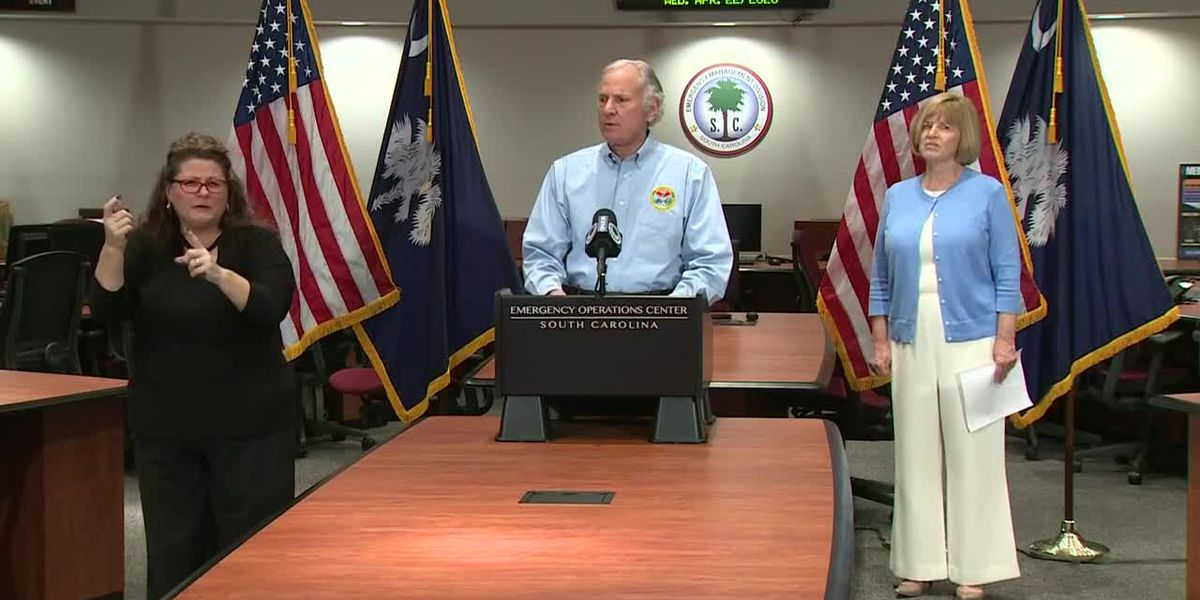 SC governor announces schools will remain closed for the rest of the academic year