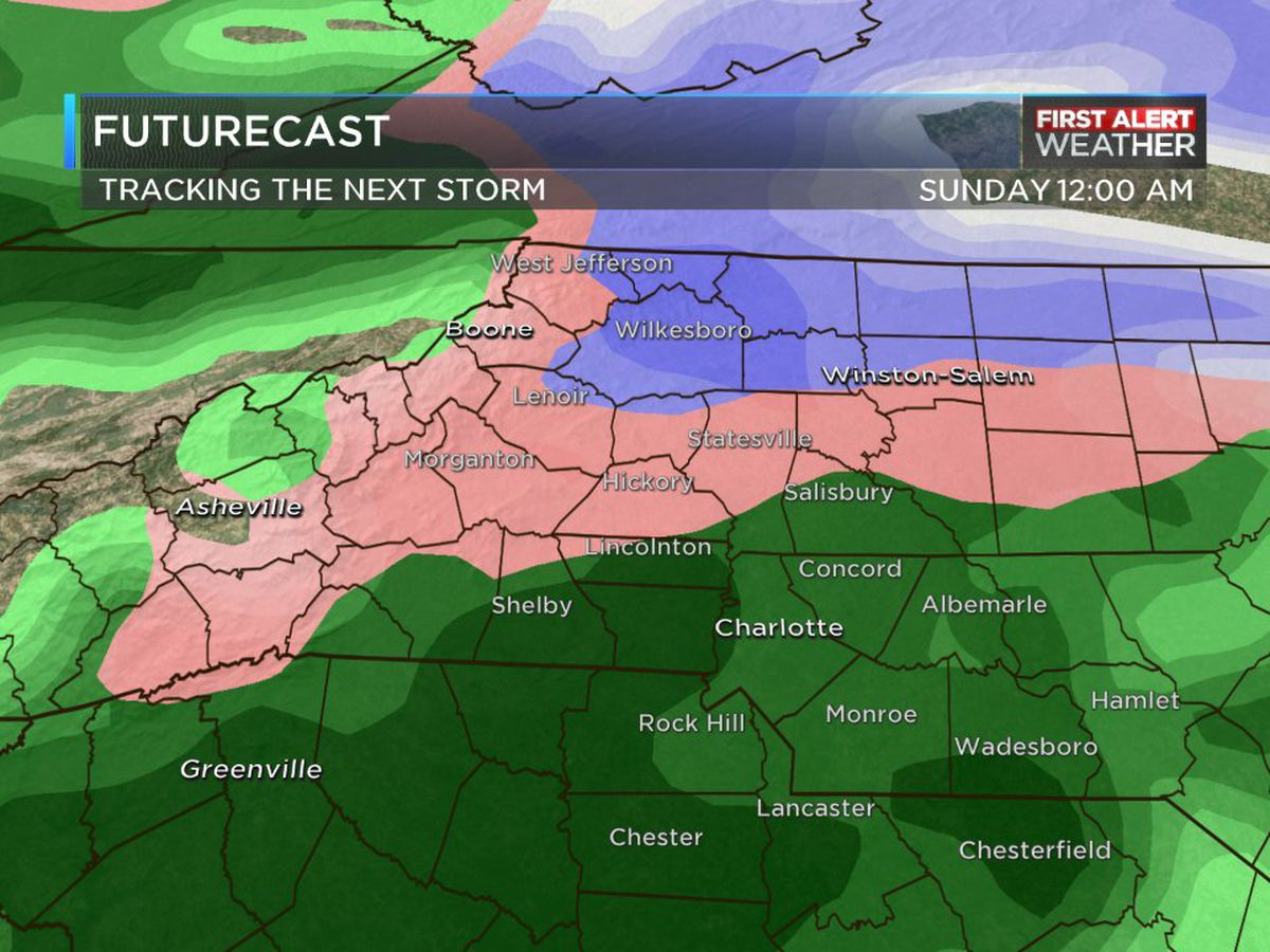 First Alert Day declared for late Saturday into early Sunday