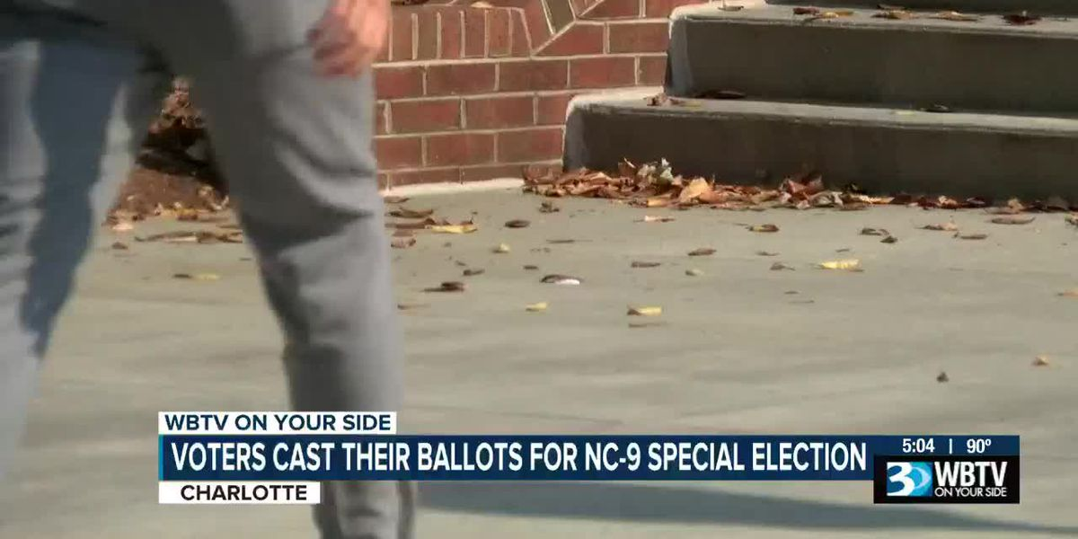 Polls open in special election for house seat in NC's 9th Congressional District