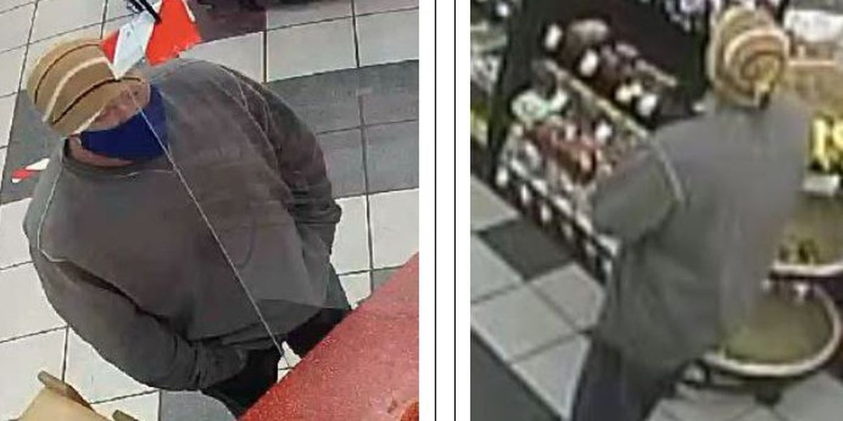 Police ask public for help identifying armed robber of Granite Quarry convenience store