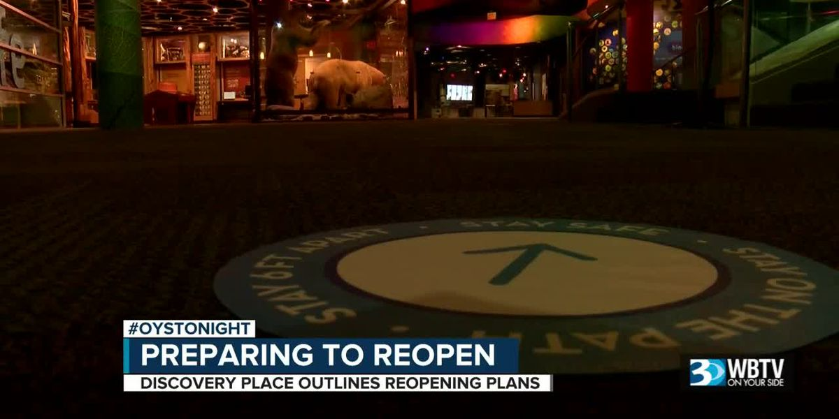 Discovery Place prepares to reopen amid coronavirus pandemic in Charlotte