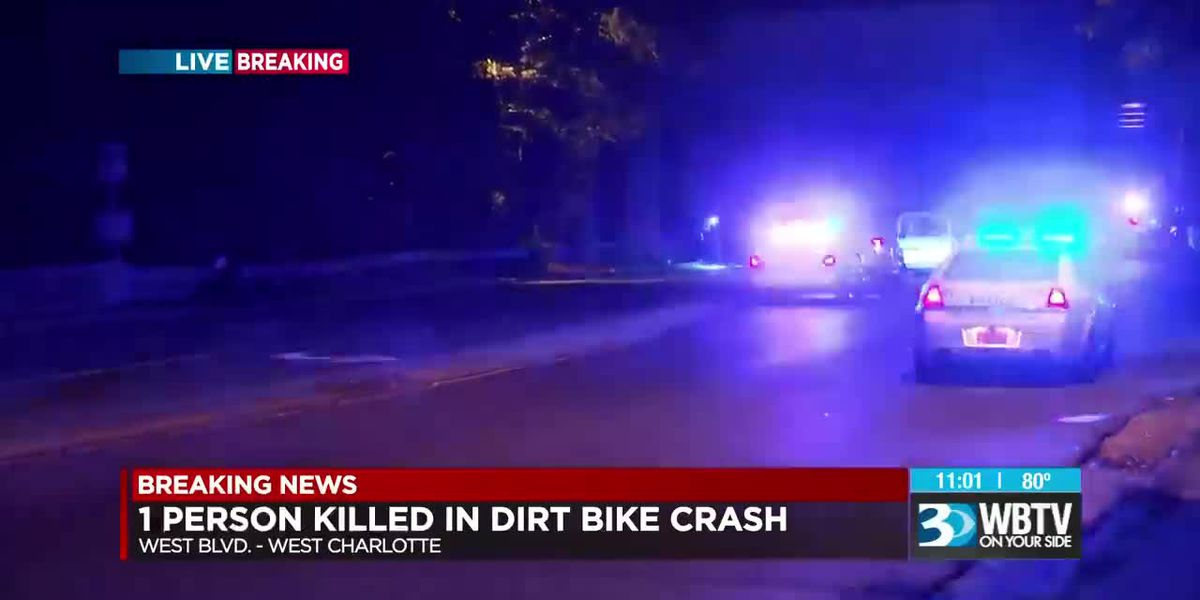 Dirt bike rider killed in west Charlotte accident