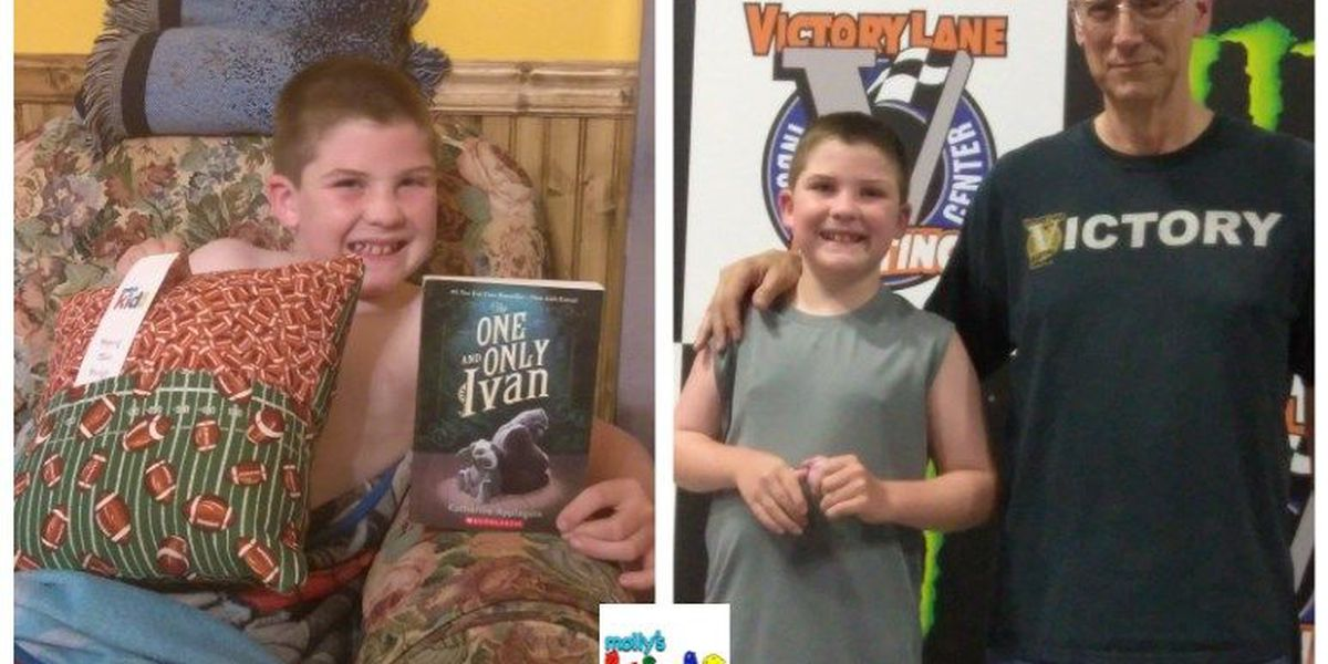 Molly's Kids: Victory Lane Indoor Karting for Hickory's Ty Yelton