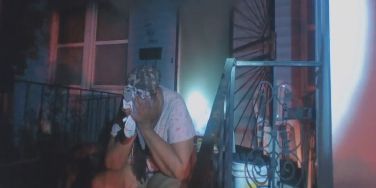 Child trapped inside burning home rescued by heroic Cleveland Heights police officer (video)