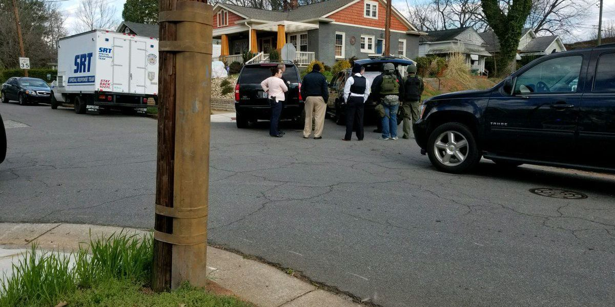 Police search for suspect near home in Salisbury