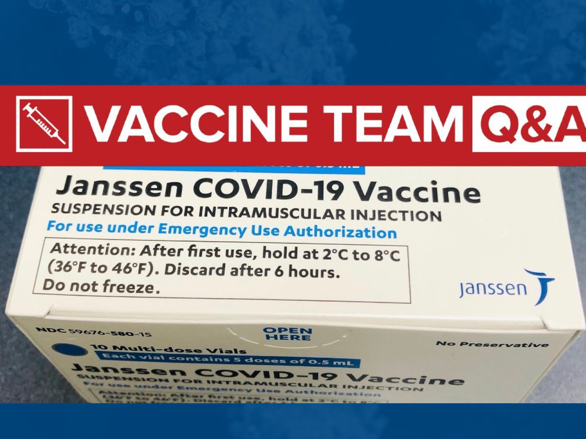 VACCINE TEAM: Is the Johnson & Johnson COVID-19 vaccine a live vaccine?