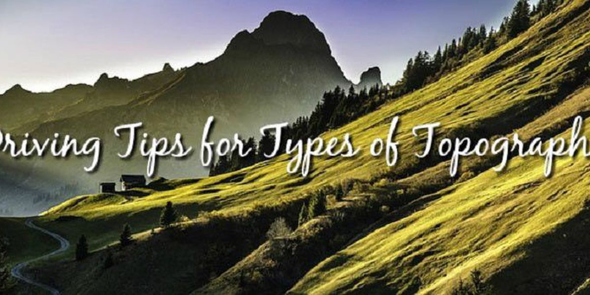 Safe driving tips for mountains and hills