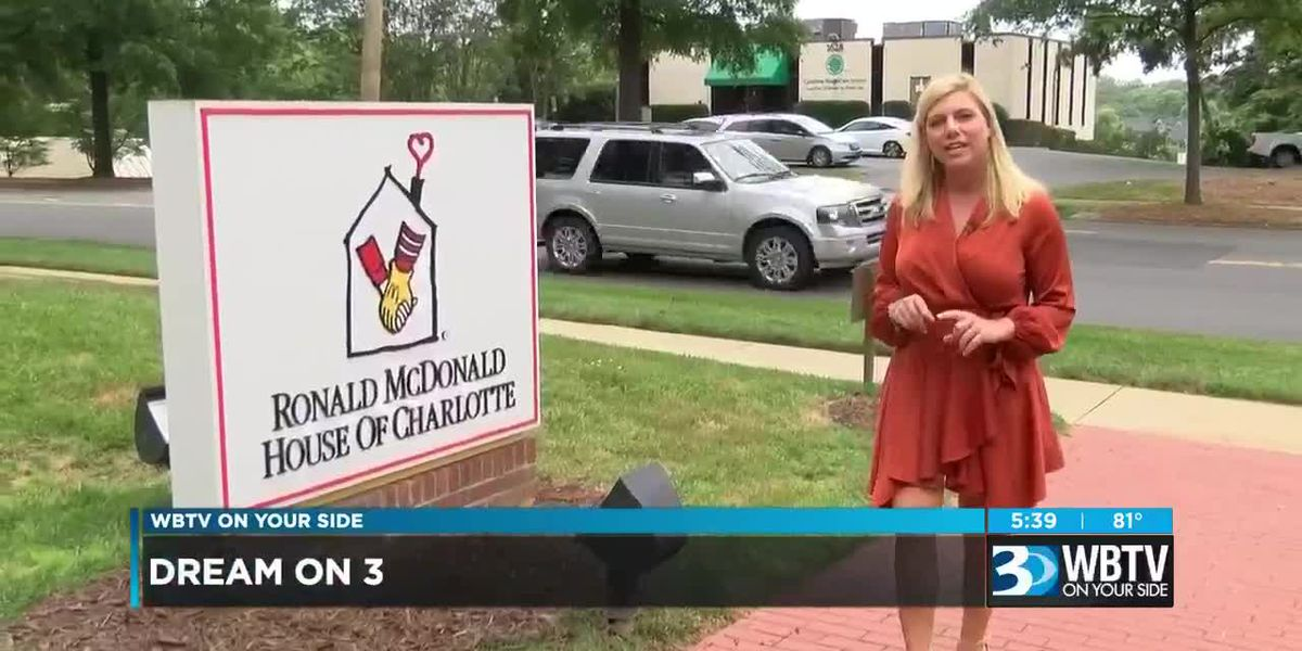 Dream On 3 working with Ronald McDonald House of Charlotte