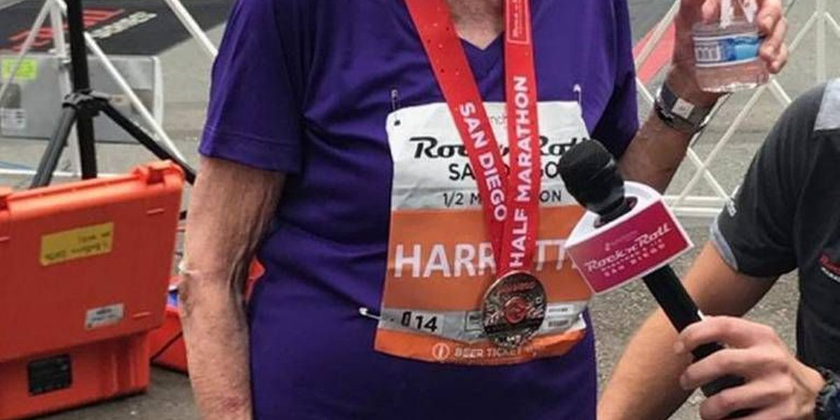94-year-old Charlotte local is the oldest woman to ever finish half-marathon