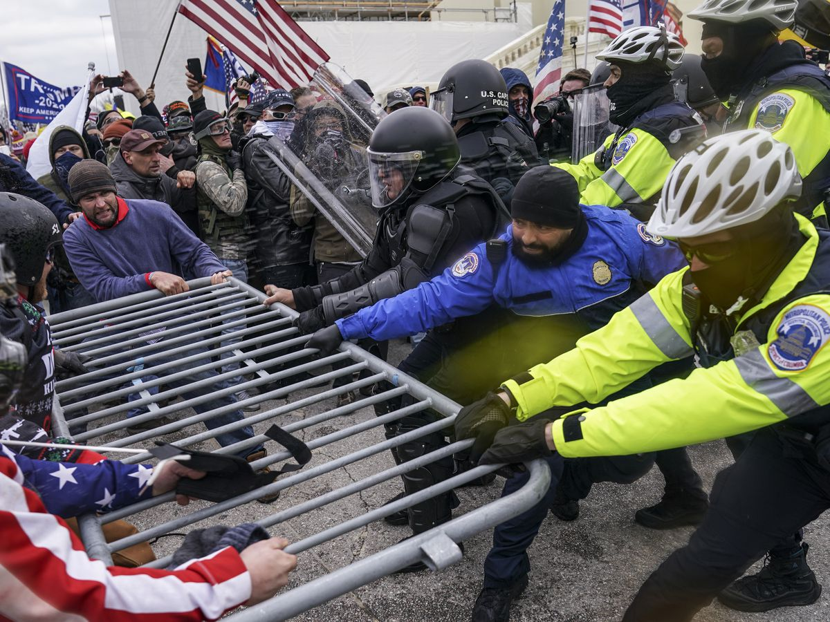 Prosecutors: No charges for officer in Capitol riot shooting