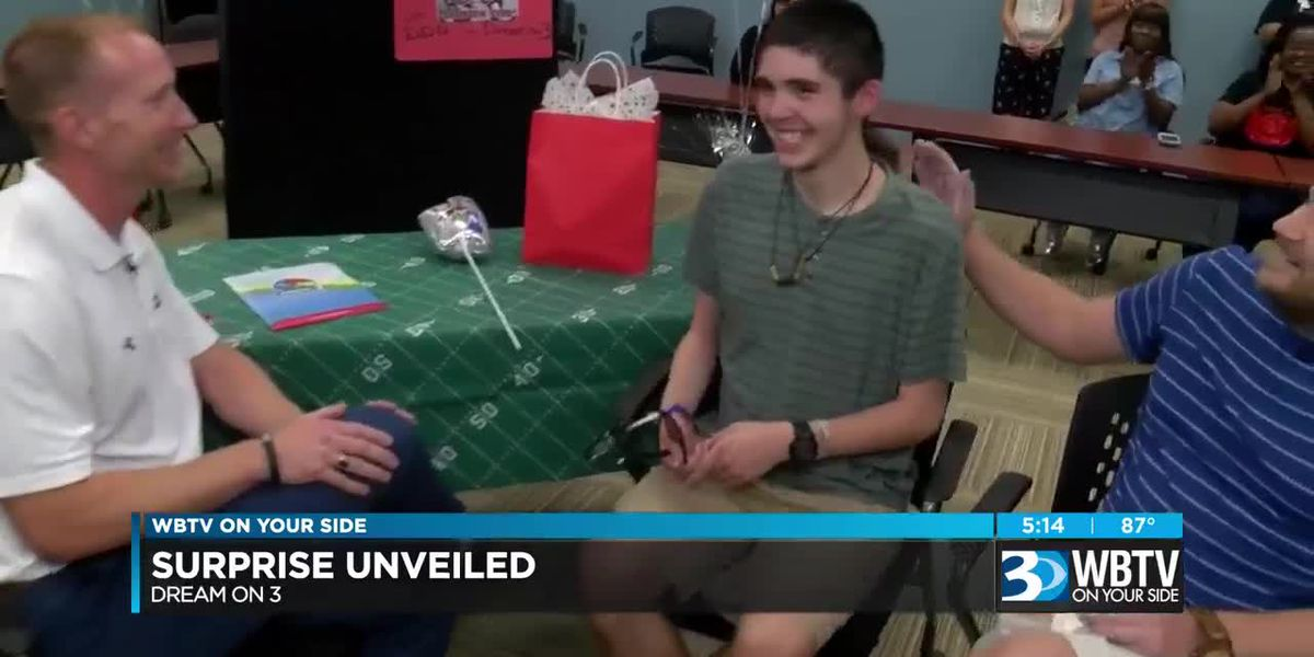 Charlotte 18-year-old with Autism Gets Surprise Sports Dream Come True