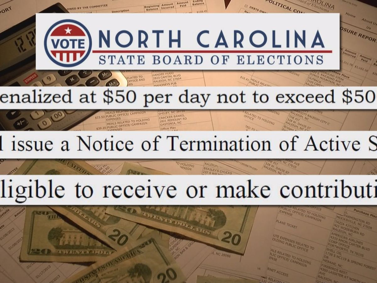 'Backlog' at state level allows elected officials to violate campaign rules with impunity