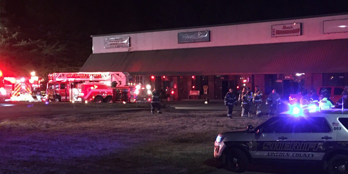 Restaurant heavily damaged after catching fire in Lincoln County