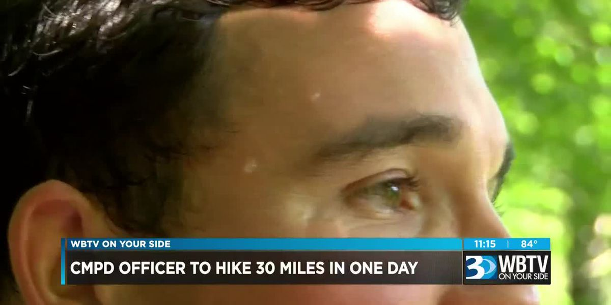 CMPD officer training to hike 30-miles of Appalachian Trail in one day for cystic fibrosis