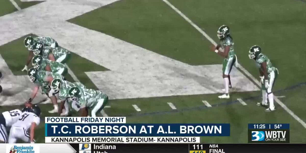 T.C. Roberson at A.L. Brown