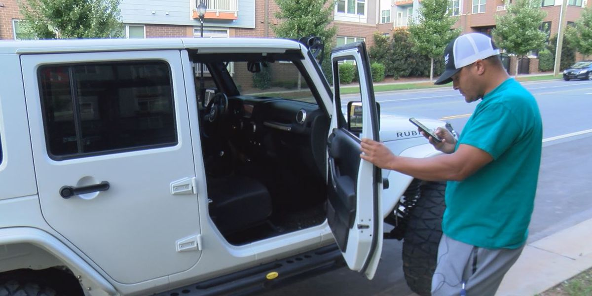 National guardsman says personal firearm was stolen from car at apartment complex