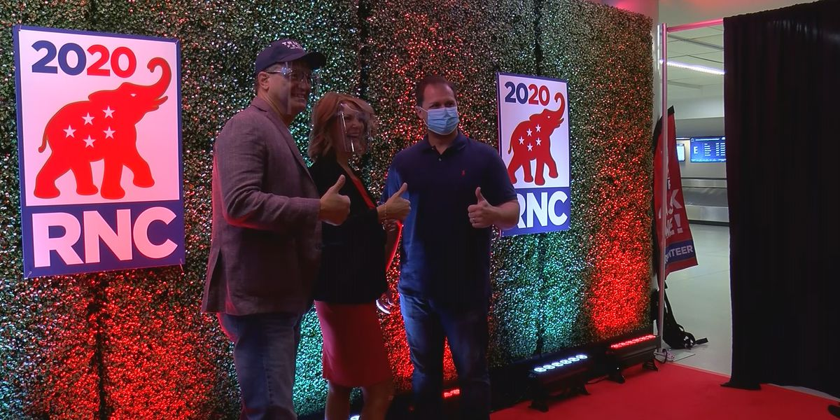 RNC delegates arrive in Charlotte, health leaders and local businesses prepare for Monday
