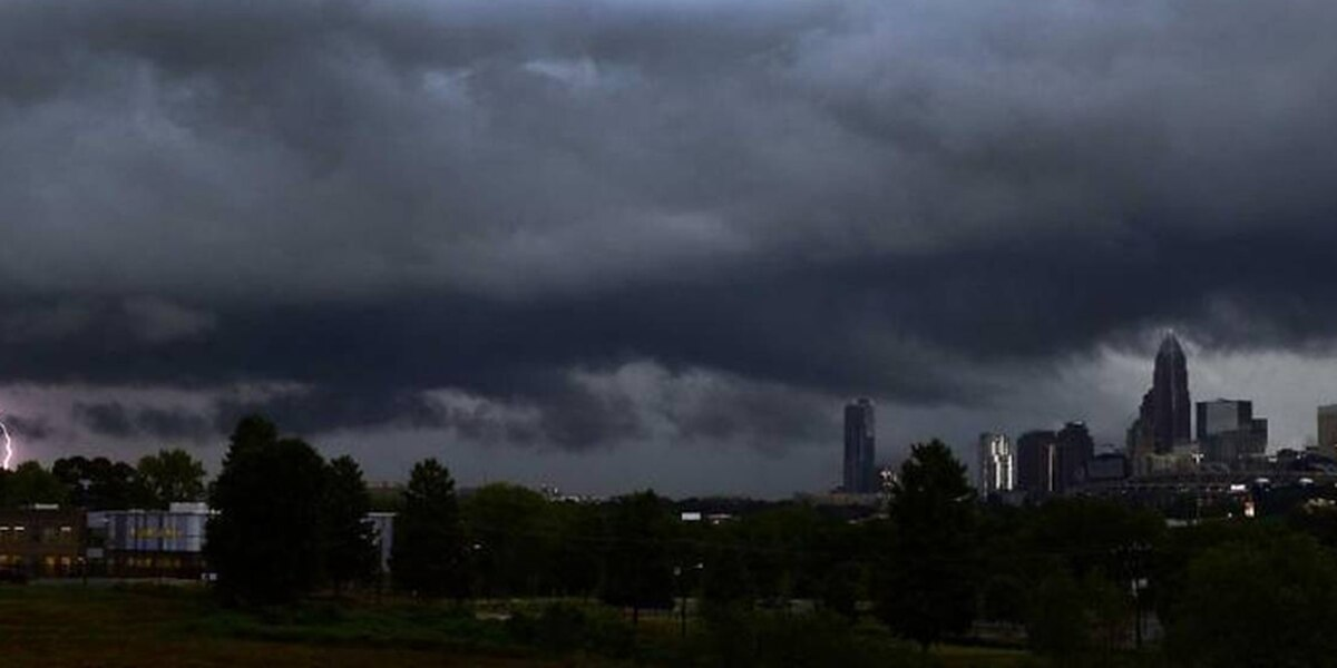 Yes, that was thunder in Charlotte early Tuesday. But why was it so loud?