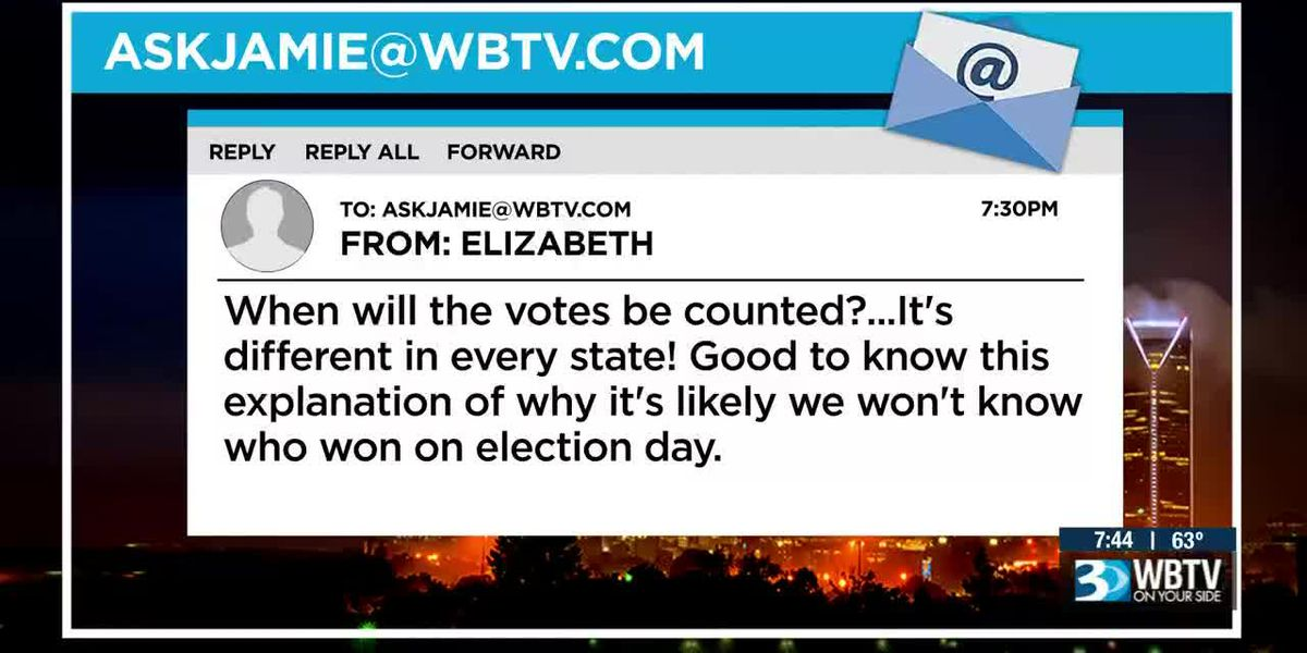 Good Question: When will our votes be counted?