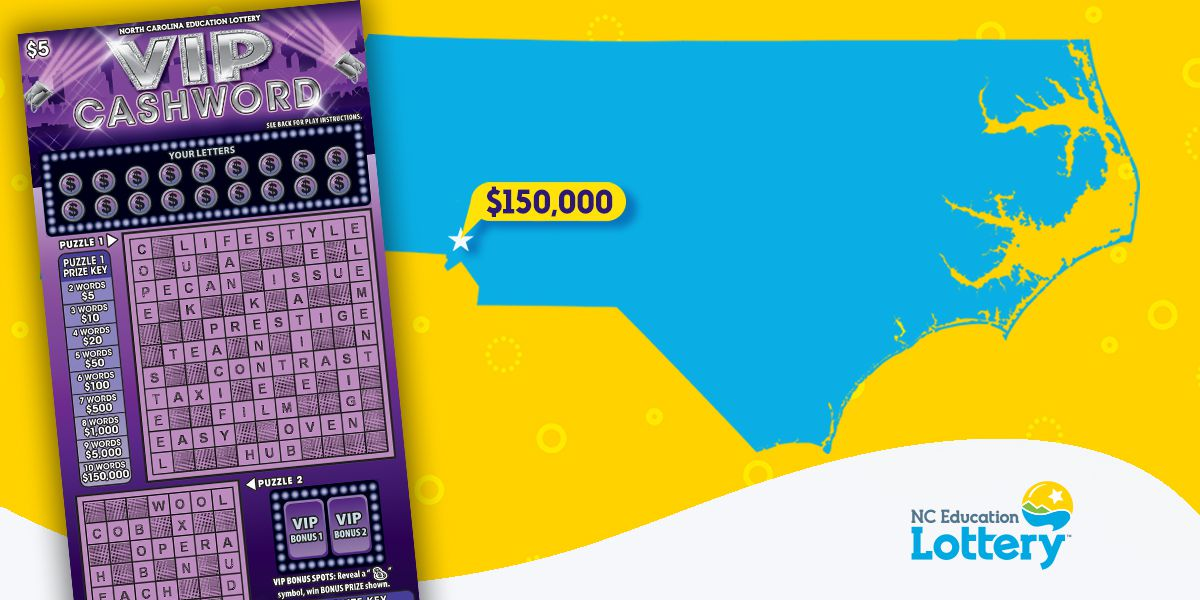 Charlotte man buys $5 ticket, wins $150K prize from crossword puzzle in N.C. lottery